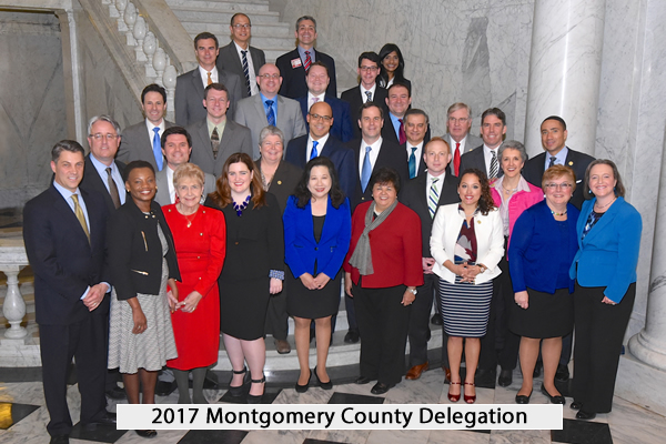 2016 Montgomery County Delegation